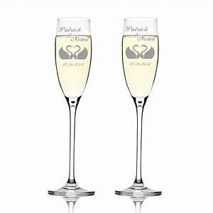 Sektgläser Hochzeit Gravur : 2 sektgl ser mit gratis hochzeit gravur personalisierter ~ Sanjose-hotels-ca.com Haus und Dekorationen