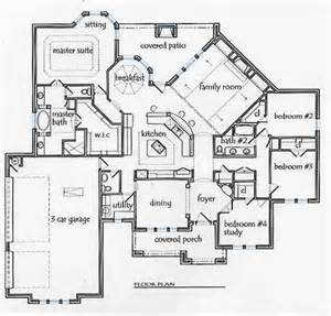 ranch floor plans with split bedrooms house plans