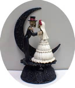 cowboy cake topper day of the dead wedding cake topper skeleton