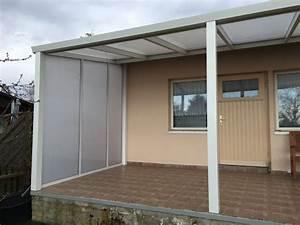 Terrassenüberdachung Mit Seitenwand : td 101 alu terrassendach preiswert von sodona ~ Whattoseeinmadrid.com Haus und Dekorationen