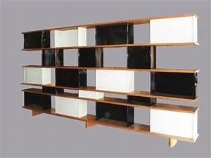 Caisson Bibliotheque Modulable : une grande cloison formant bibliotheque double face ~ Edinachiropracticcenter.com Idées de Décoration