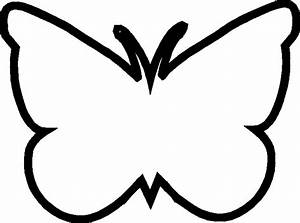 Image Simple Butterfly Outline - ClipArt Best
