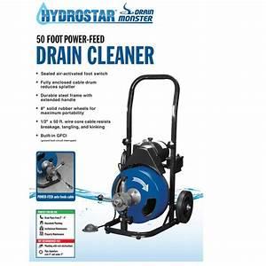 Hydrostar Drain Monster User Manual