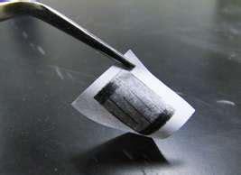 detecting chemicals measuring strain   pencil  paper