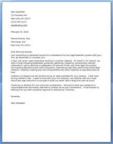 legal letters format