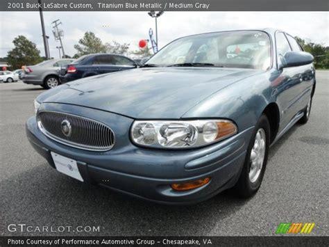 2001 Buick Lesabre Custom by Titanium Blue Metallic 2001 Buick Lesabre Custom