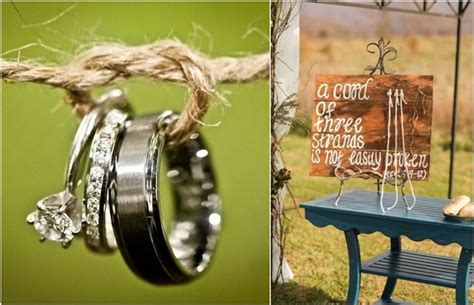 unique tie  knot wedding ideas deer pearl flowers