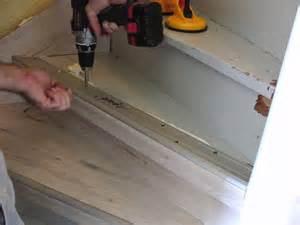 treppe laminat h k treppenrenovierung so wird eine treppe mit laminat richtig verkleidet