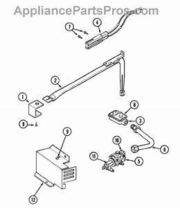 Parts For Magic Chef 9112xpb  Gas Controls Parts