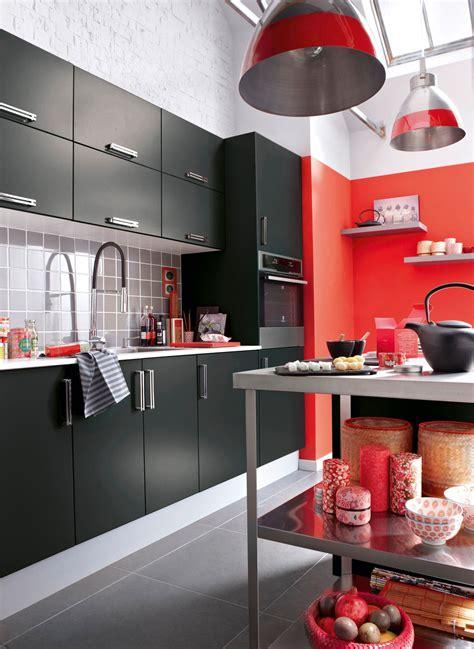 les decoration des cuisines cinq couleurs tendances pour les murs de cuisine