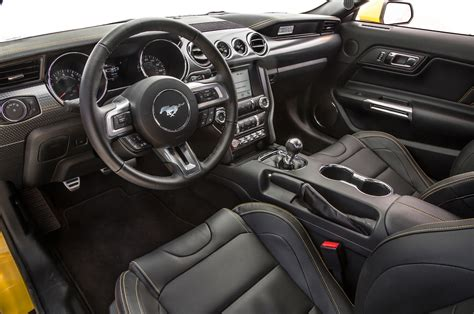 mustang interior images 2016 ford mustang gt test review motor trend