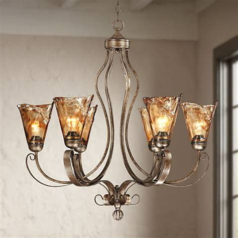 franklin iron works lighting franklin iron works scroll 31 1 2 quot wide chandelier