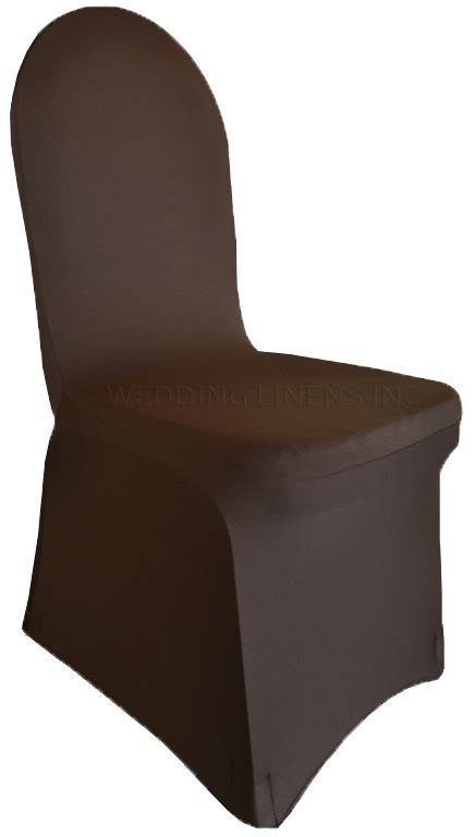 chocolate spandex banquet chair covers wholesale