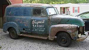 Chicago Delivery  1953 Chevrolet Panel Truck