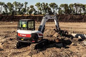 Bobcat E85 is Company's Largest R-Series Excavator ...