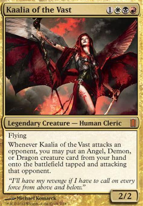 master of cruelties edh deck kaalia of the vast mtg card