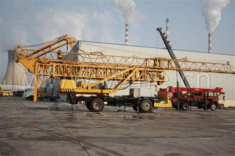 Mobile Tower Crane - China Mobile Tower Crane