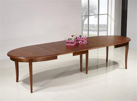 table ovale de salle 224 manger estelle en merisier massif 170x110 de style louis philippe 4