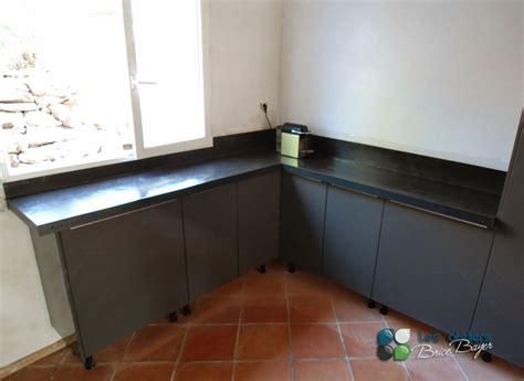 beton ciré cuisine plan travail plan de travail en beton cire meilleures images d