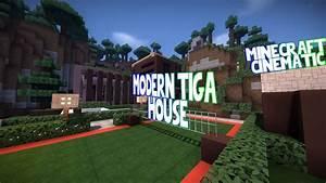 Modern Taiga House   A Minecraft Cinematic - YouTube