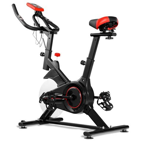 Gymax Exercise Cycling Bike Indoor Fitness Stationary ...