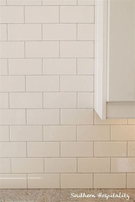 warm gray grout white subway tile backsplash with gray grout kakel och hus