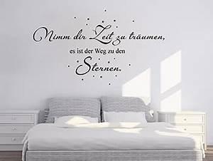Bett Beziehen Englisch : wandtattoo spr che zitate und begriffe auf ~ Yasmunasinghe.com Haus und Dekorationen