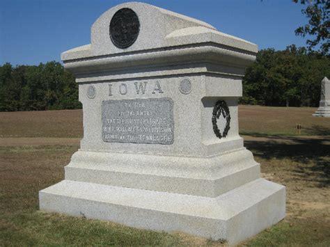 iowa civil war monuments