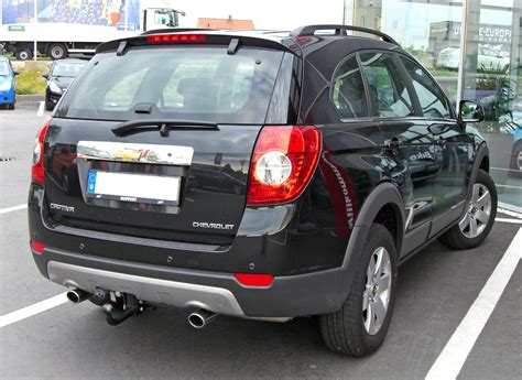 Chevrolet Captiva Modification by Chevrolet Captiva 2 0 Lt Pictures Photos Information Of