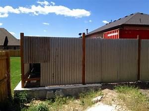 Corrugated, Steel, Fencing, Panels, U2022, Fences, Design