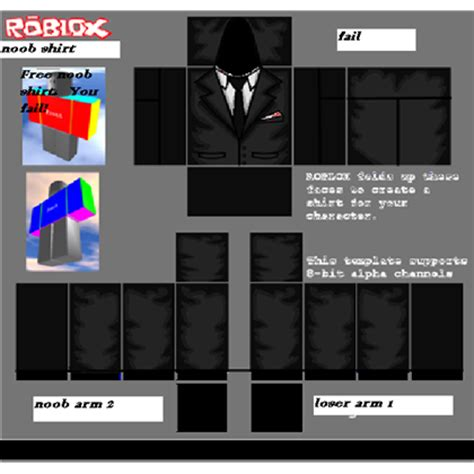 roblox suit template roblox suit roblox