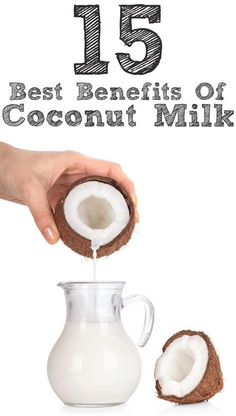 significant benefits  coconut milk nariyal ka doodh