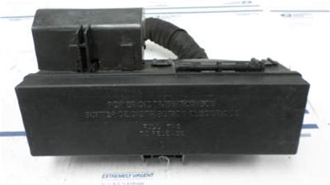 Fuse Box Relay Power Distribution Ford Explorer