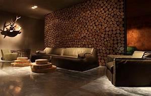 Wohnzimmer Ideen Wandgestaltung : wohnzimmer rustikal gestalten teil 2 ~ Orissabook.com Haus und Dekorationen