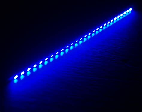 computer led light strips blue 12 quot 30cm dimmable pc led strip