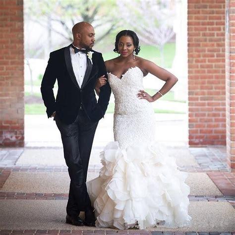 organza salle de mariage luxury 2016 lace mermaid wedding dresses vintage robe de mariage sweetheart organza