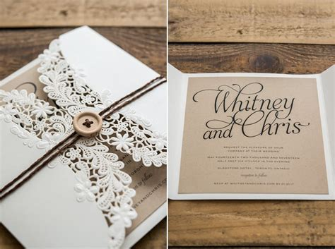 Vintage Wedding Invitations: 15 Beautiful Examples to