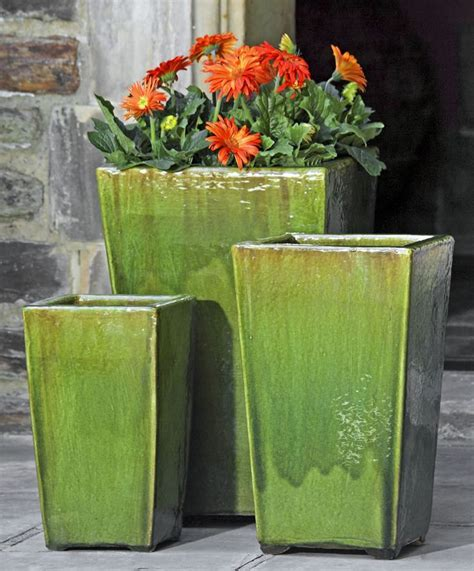 Outdoor Pottery Planters by 17 Best Ideas About Large Outdoor Planters On