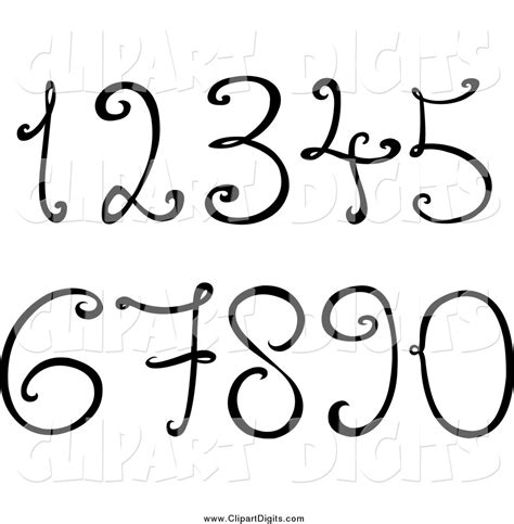 numbers black and white royalty free black and white stock number designs