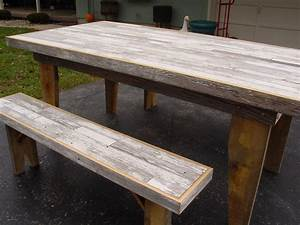 reclaimed dining table barn wood furniture country farm table