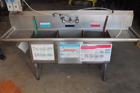 3 compartment sink for sale 3 compartment sink used for sale classifieds