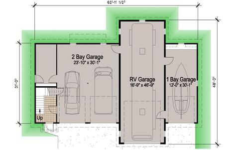 island rv garage 45 39 motor home southern cottages