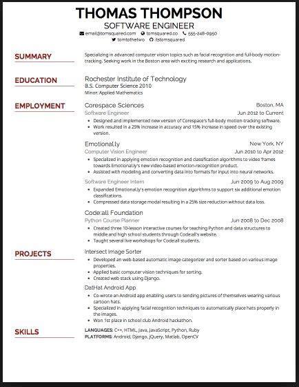 Font Resume best font for resume 2015 resume resume