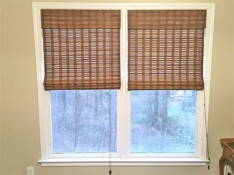 Payless Decor Bamboo Shades by Adding Texture Warmth To Windows Southern Hospitality