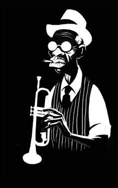 jazz musician silhouettes silhouette jazz band wall