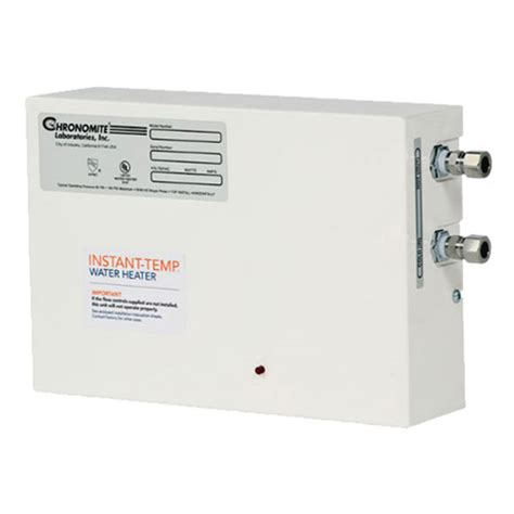 Chronomite Instanttemp Electric Tankless Water Heaters