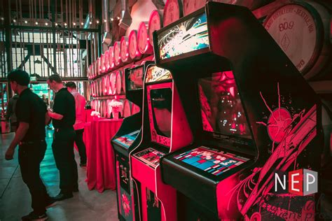 Classic Arcade Game Rental — National Event Pros