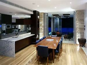 Modern, Kitchen, And, Dining, Room, Ideas, 2014