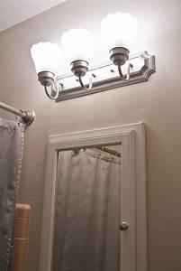 Swingncocoa  Pink Bathroom Chronicles  Vanity Light