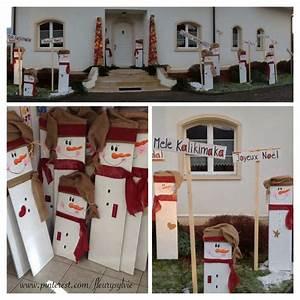 idee deco de noel exterieur maison design bahbecom With idee deco cuisine avec pinterest deco exterieur